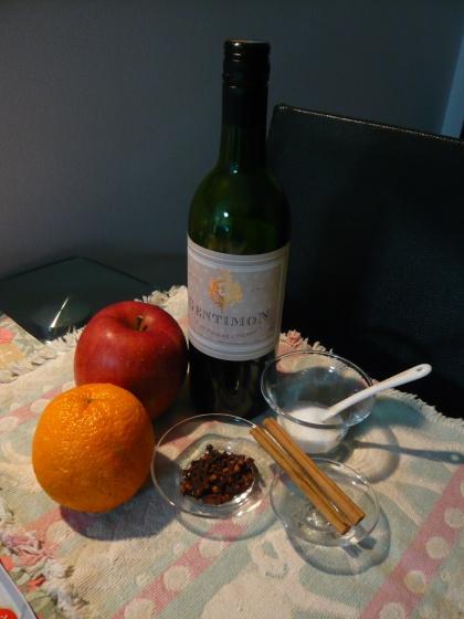 ホットワインレシピ①